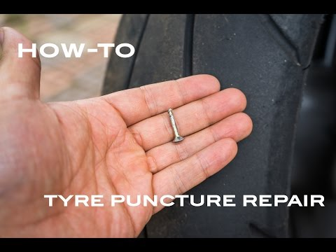 [How To] Tyre Puncture Repair