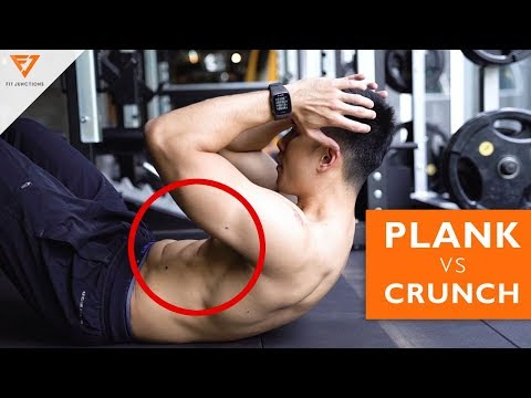 Crunch vs Plank ท่าไหนสร้าง Sixpack ดีกว่ากัน [Serious Workout 71]