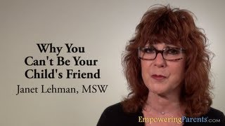 Why You Can't Be Your Child's Friend with Janet Lehman, co-creator of The Total Transformation