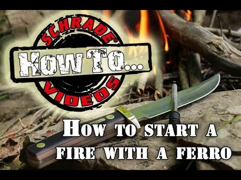 survival fire building how to start a fire with a ferro firesteel rod without matches. Black Bedroom Furniture Sets. Home Design Ideas