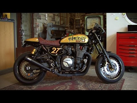 Bike Motors - Yamaha Cafe Racer Yamikaze