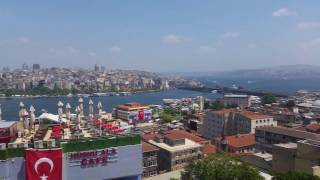 Путешествие по Стамбулу, Кафе, пейзаж на пролив Босфор(, 2016-09-02T07:09:32.000Z)