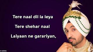 Thug Life (Lyrics) - Diljit Dosanjh ft. Jatinder Shah