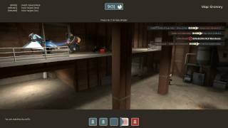 GWJ TF2 2010 Tourney game 2: Rolling Sixes vs No Disassemble Johnny #5 - Map: Granary (part 2)