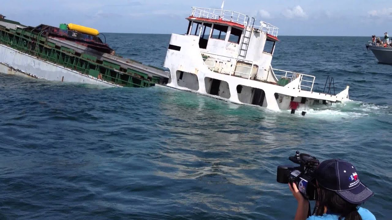 Kinta S Sinking Ship In Corpus Christi Texas Youtube