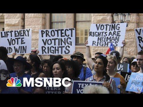 Pro-Democracy Activists Gear Up To Pressure Senators On Voting Rights Bill