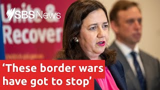 Queensland Premier hits back at pressure to open borders sooner I SBS News