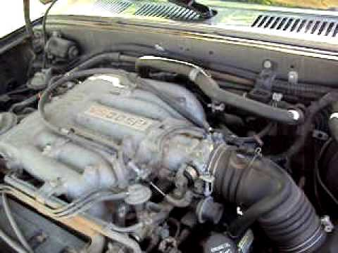 1990 Toyota Pickup 4x4 30L 6cyl 3vze whacky engine noise | Doovi