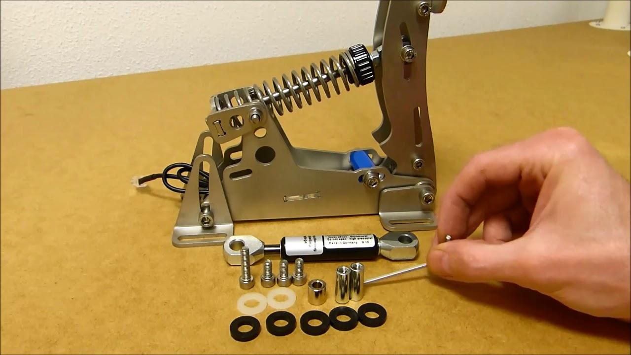 Service Bulletin #1 - Sim Pedals Ultimate Throttle Damper Retrofit   Heusinkveld Engineering 06:14 HD