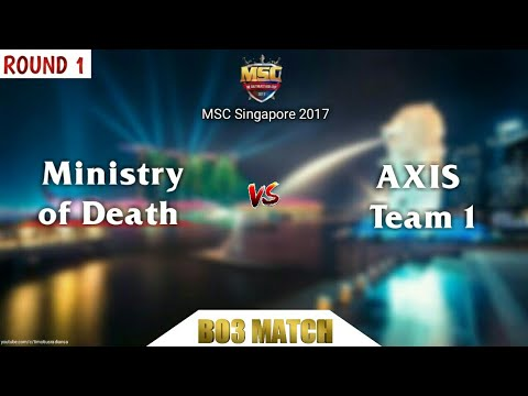 MSC Singapore : Axis Team 1 vs Ministry of Death #round1