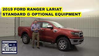 2019 FORD RANGER LARIAT COMPLETE GUIDE: STANDARD AND OPTIONAL EQUIPMENT