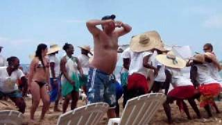 Jamaican Beach Party - Two-handed Chuggin - Rum Punch & Red Stripes
