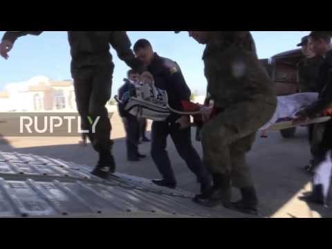 Syria: Doctor seriously injured in Aleppo hospital attack transferred to Russia