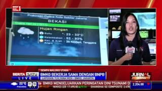 Gempa 7,3 Skala Richter di Maluku Terasa Manado