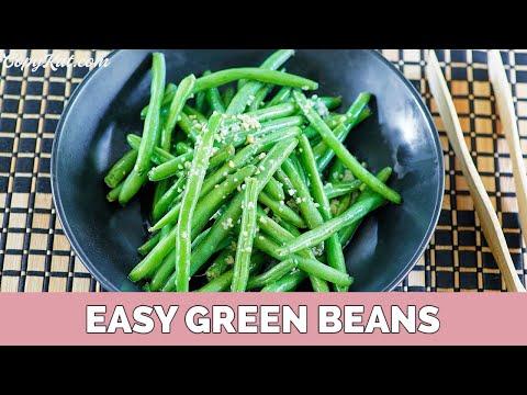 How to prepare fresh green beans - Super Easy
