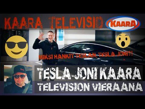 Tesla-Joni Ja Tesla Model3 Kaara Televisiossa Osa 1 - Miksi Hankit Teslan?