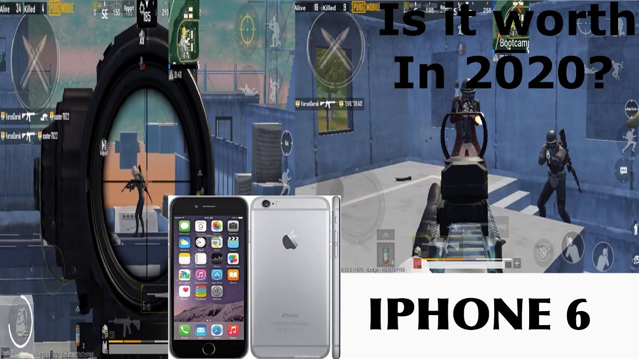 iPhone 6 BOOTCAMP Gameplay|IS It worth in 2020?|iphone 6 pubg gameplay 2020