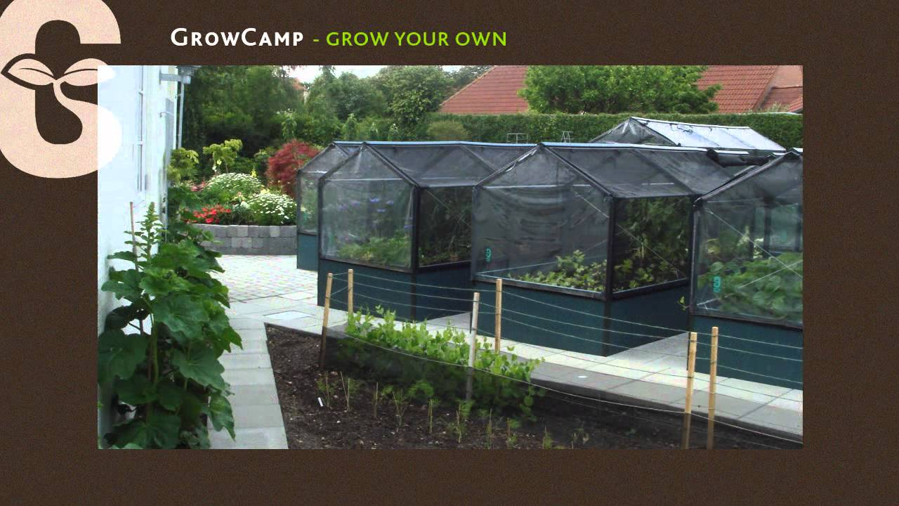 potager sur lev growcamp youtube. Black Bedroom Furniture Sets. Home Design Ideas