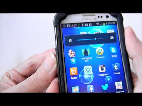 Samsung Galaxy S3 REVIEW - (Virgin Mobile) Prepaid No Contract and case