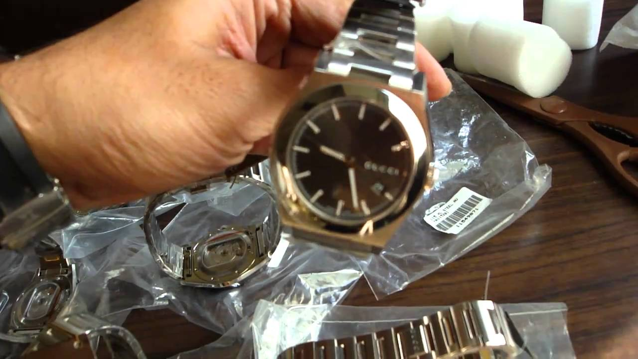 76343e7d7d8 GUCCI 115 PANTHEON Automatic YA115201 - YouTube