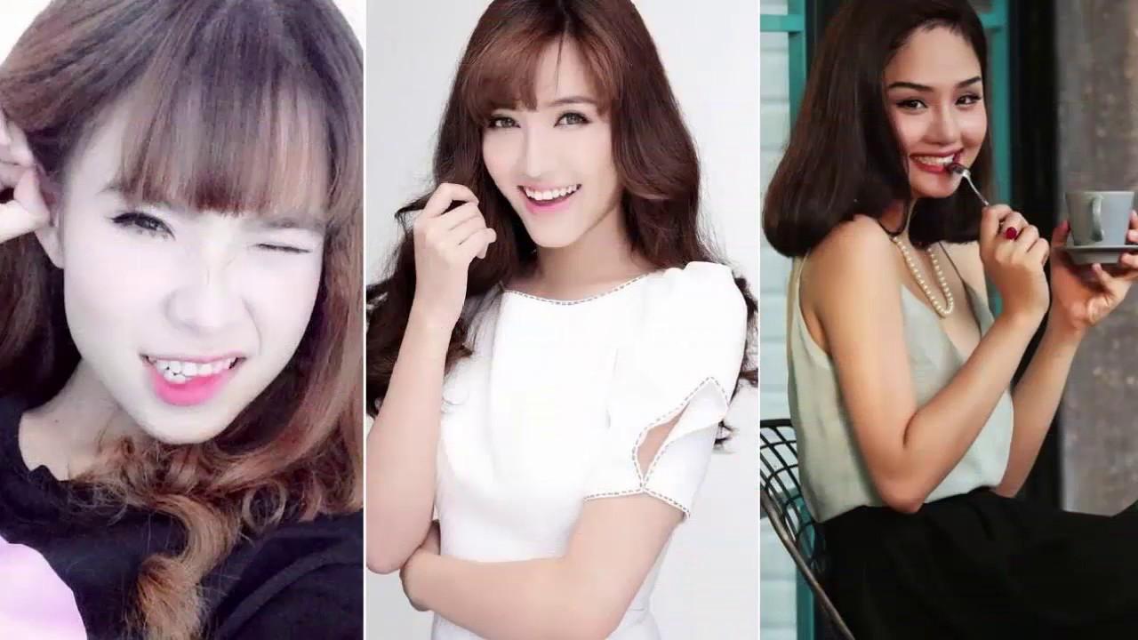 Bảng xếp hạng TOP 10 - Nữ ca sĩ xinh đẹp nhất Việt Nam năm 2017   ĐH News  Channel