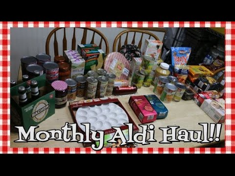 April Aldi Grocery Haul~Grocery Haul~Easter Ham~Pantry Stocking Haul~Food Shopping~Noreen's Kitchen