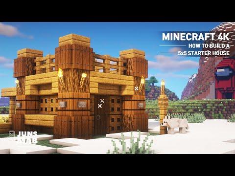 Майнкрафт: самый маленький дом размером как построить простой дом для начинающих #160