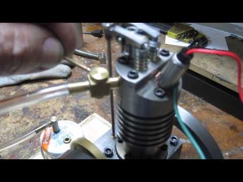 Vertical Single IC Engine, Glow Plug, Vapor Fuel Tank