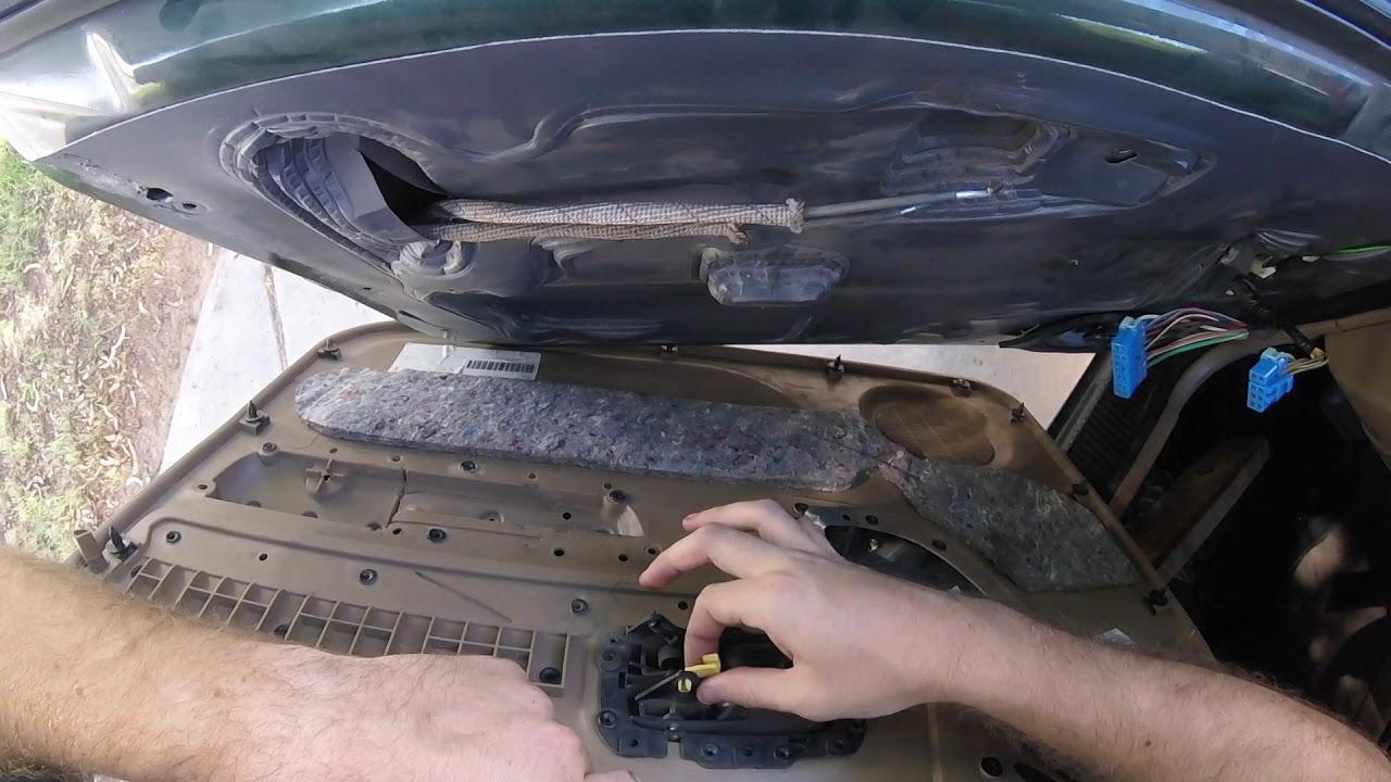 2001 Jeep Cherokee Master Window Door Switch Replacement Youtube