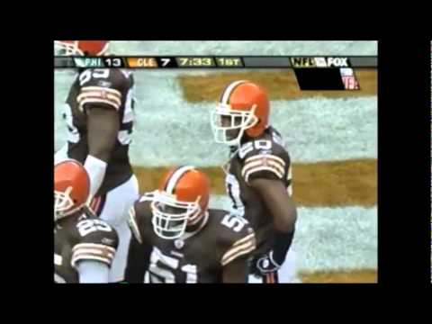 Terrell Owens killing the Browns in 04