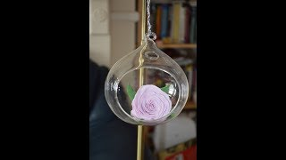 How to... foamiran rose decoration DIY I Easy, quick and gorgeous