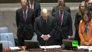 دقيقة صمت في مجلس الأمن حدادا على ضحايا هجوم لندن
