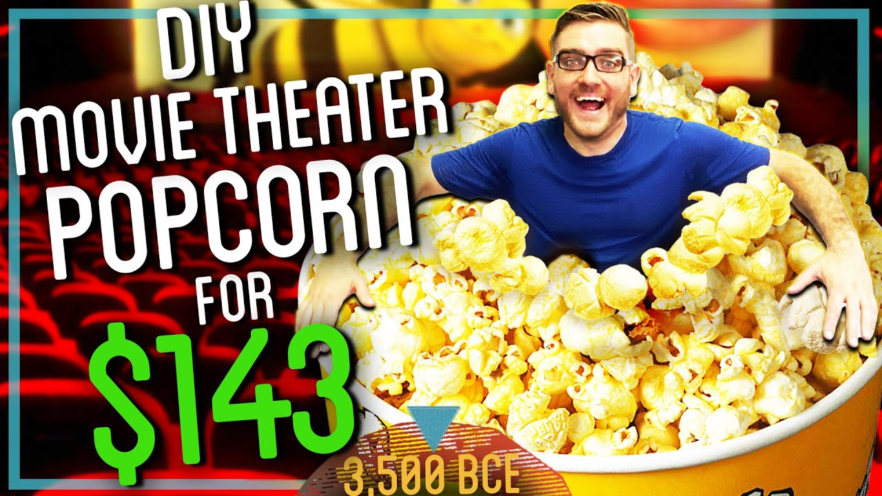 How to Make Popcorn That Costs $143 (Movie Theater QUALITY)