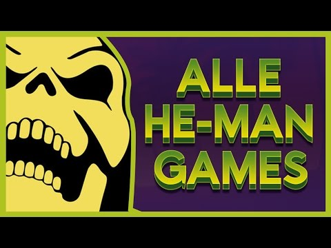 Masters of the Universe - Alle HE-MAN Videospiele im Test.