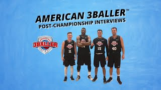 Trey Bardsley and Dylan Travis after the American 3Baller Final