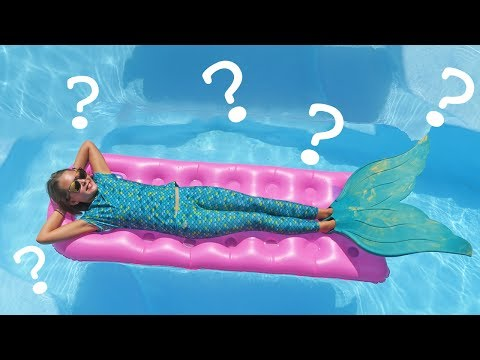 Thumbnail: Real Mermaid Swimming Pool Party Q & A With Ava | Question and Answer | Kids Cooking and Crafts