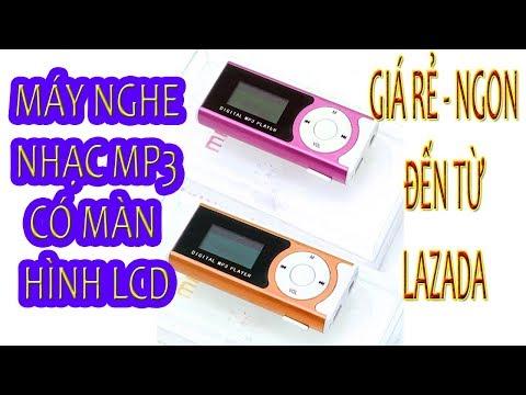Trên tay MÁY NGHE NHẠC MP3 CÓ MÀN HÌNH LCD giá rẻ đến từ LAZADA