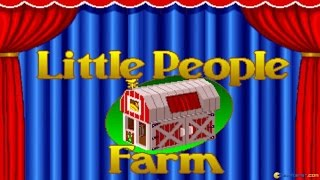 Little People Farm gameplay (PC Game, 1992)