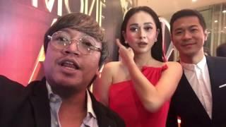 The Red Carpet! Pevita Pearce - Aura Kasih - Baim Wong - Nirina Zubir - Alex Abbad dan Sandy Thema