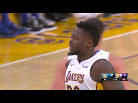 3rd Quarter, One Box Video: Los Angeles Lakers vs. New York Knicks
