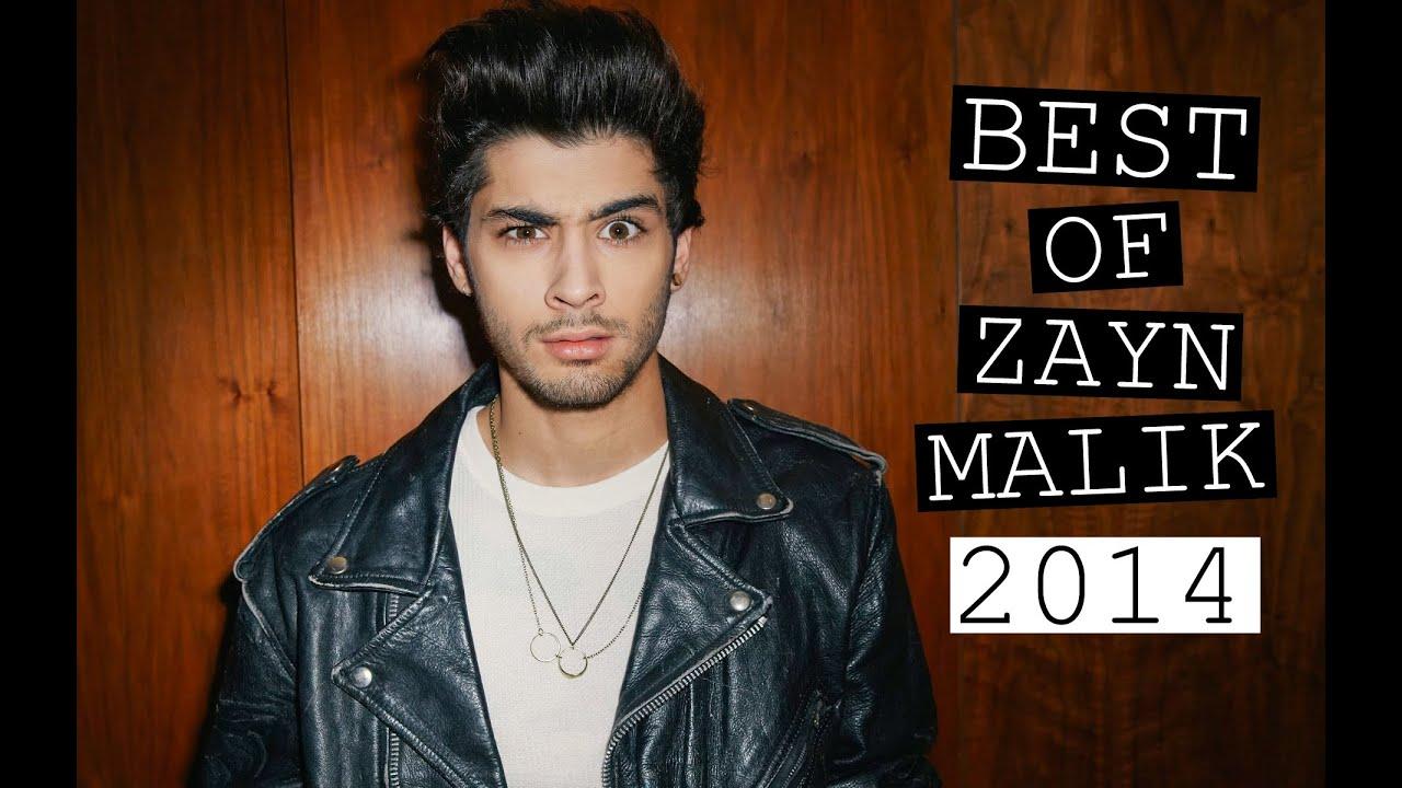 Zayn Malik's Best Bits Of 2014! - YouTube