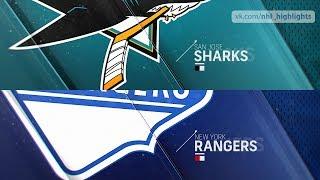 San Jose Sharks vs New York Rangers Oct 11, 2018 HIGHLIGHTS HD