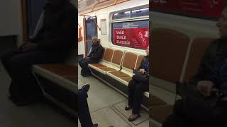 Մետրոյի «Բաղրամյան» կայարանում գնացքները շարունակում են չկանգնել
