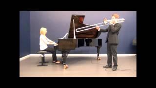 Conzert B-Dur (2) Andante Cantabile - Nikolai Andrejewitsch Rimski-Korsakow - Trombone & Piano