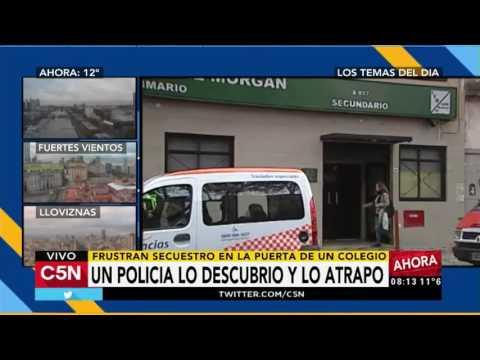 C5N - Policiales: Frustraron un secuestro en la puerta de un colegio de Palermo