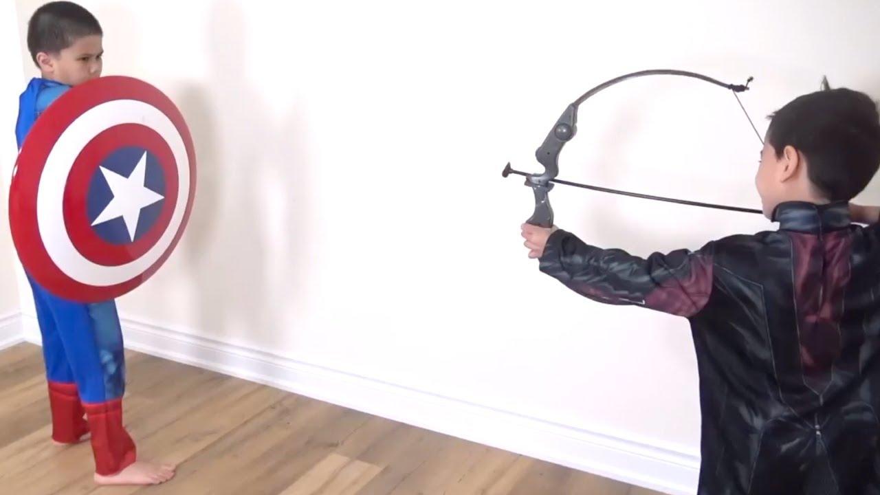 Download STRONGEST Captain America Marvel Legend Series Shield Superhero Test! TBTFUNTV