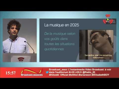 Pitch de Niland par Damien Tardieu @ V Rencontres Radio 2.0 Paris 2015