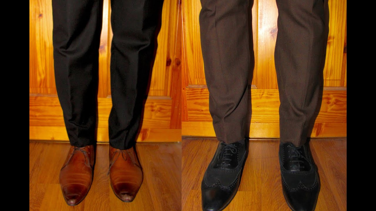 What Man Wears A Black Suit & Brown Shoes - YouTube