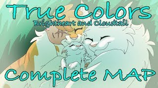 True Colours - Brightheart and Cloudtail [COMPLETE WARRIORS MAP]