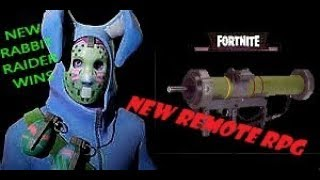 NEW EASTER RABBIT RAIDER | FORTNITE | AWE-INSPIRING HOMING MISSILE VICTORY ROYAL